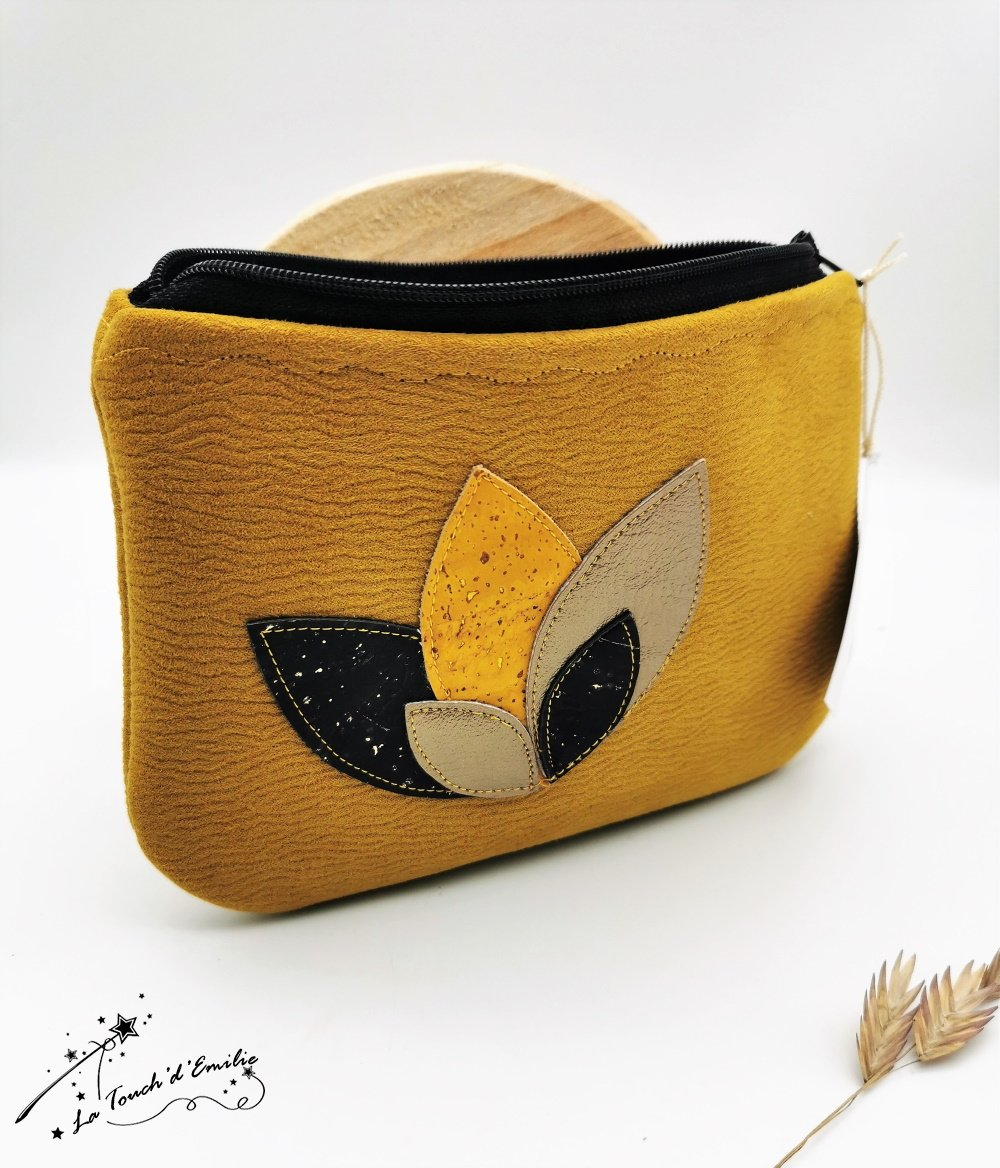 Pochette Nymphéa Gold Moutarde--2226022725198