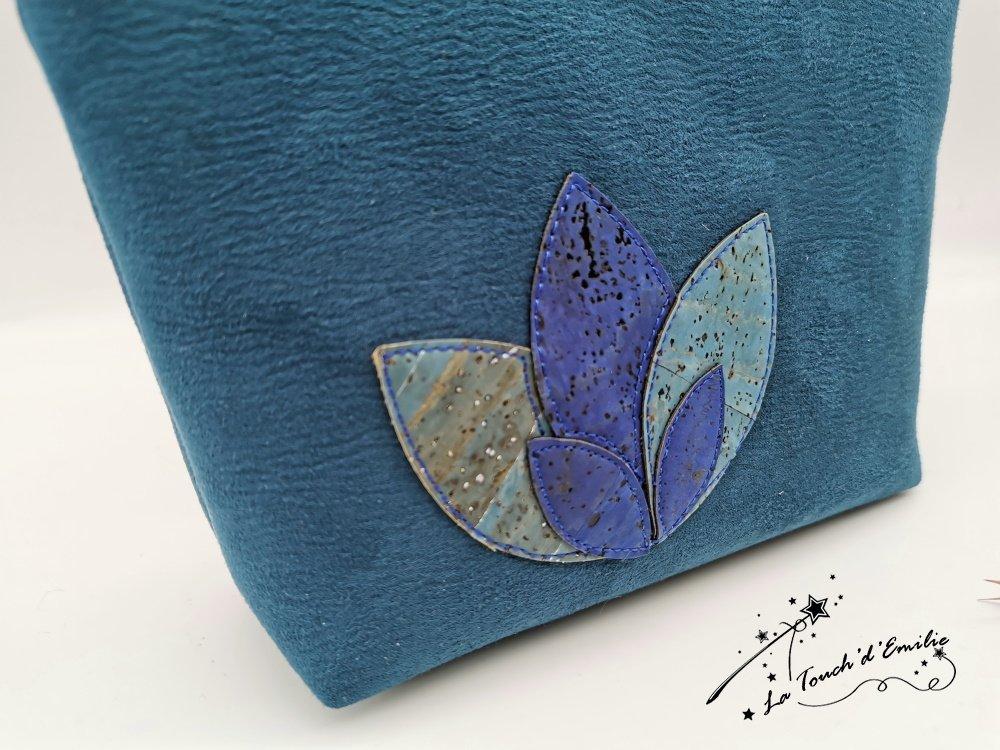 Trousse Maquillage Nymphéa Céleste Bleu Outremer--2226018141643