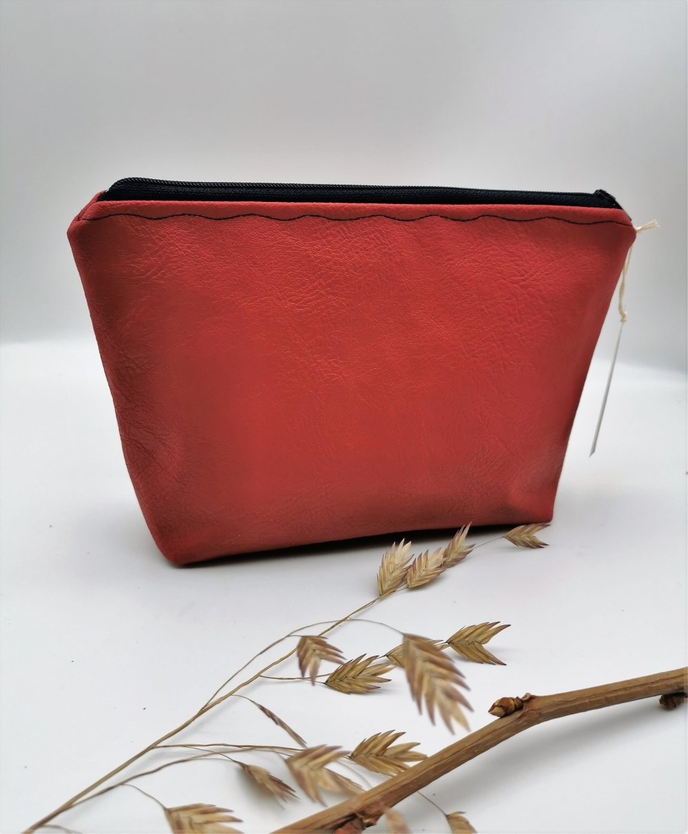 Trousse Maquillage Nymphéa Frenchy Rouge--2226022742553
