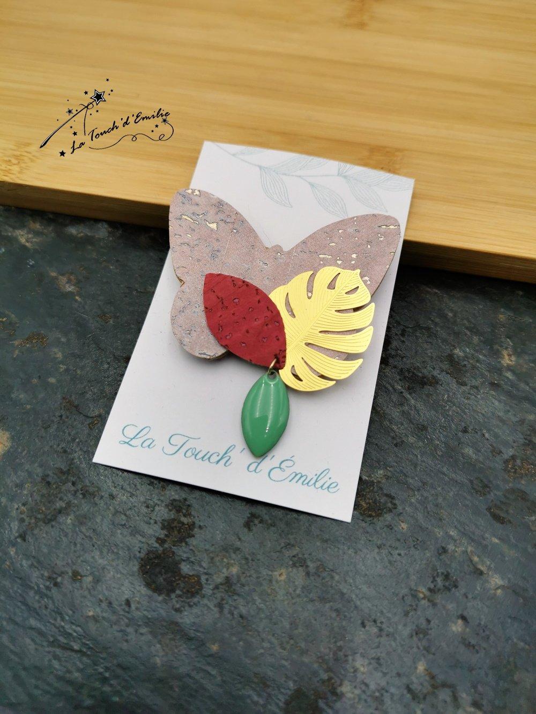 Broche Papillon Pinky--9996196037221