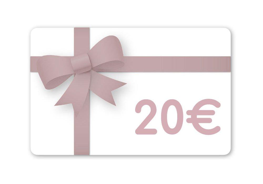 Carte cadeau 20 Euros--2225422779312