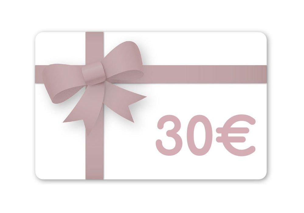 Carte cadeau 30 Euros--2225422779695