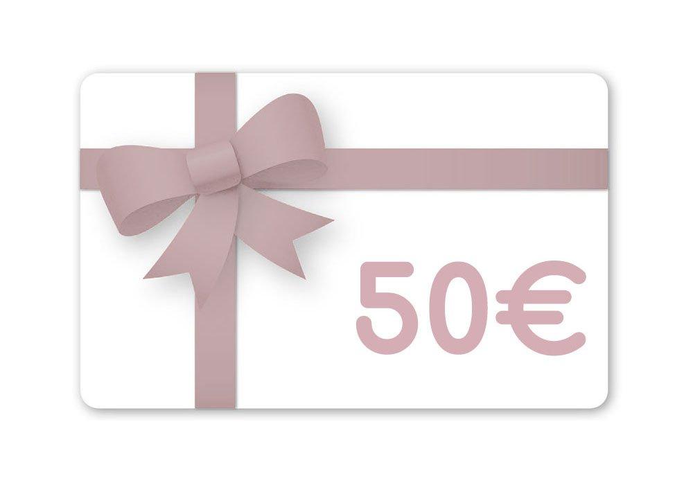 Carte cadeau 50 Euros--2225422780783