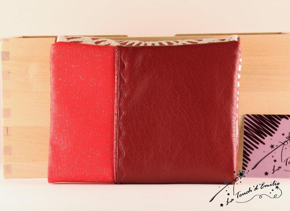 Le combi cartes-monnaie Rouge Spirale.--2225169098509