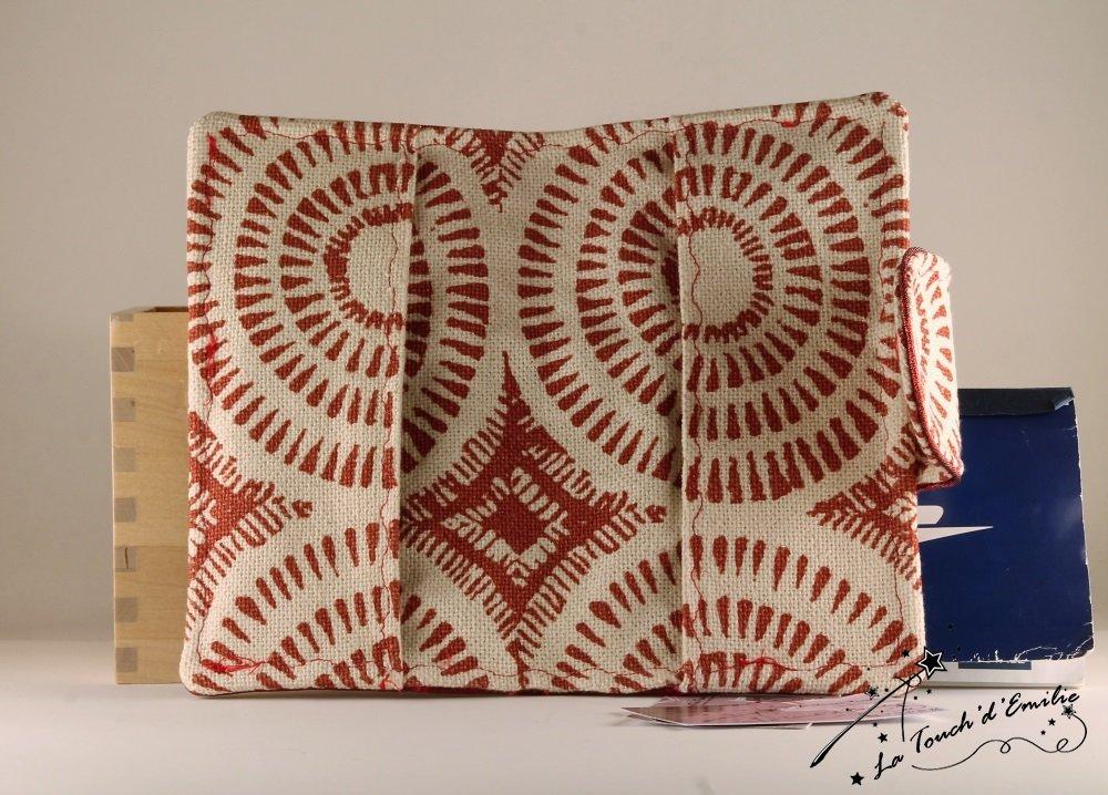 Le Porte-Chéquier Rouge Spirale--9995174180553