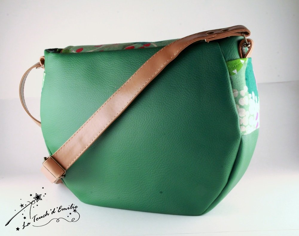 Sac Besace Cartable Green Garden--2225574985548