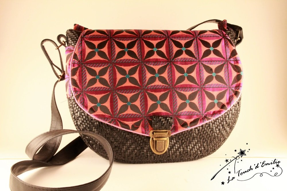 Sac Besace Cartable Purple Black--2225518832860