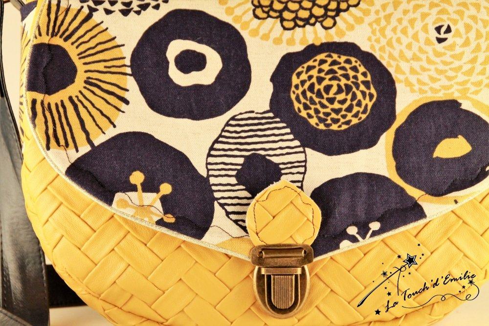 Sac Besace Cartable Soleil Floral--2225511255987