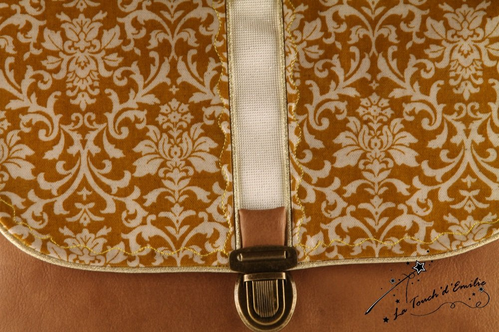 Sac 'Middle' Baroque ocre jaune--9995173336517