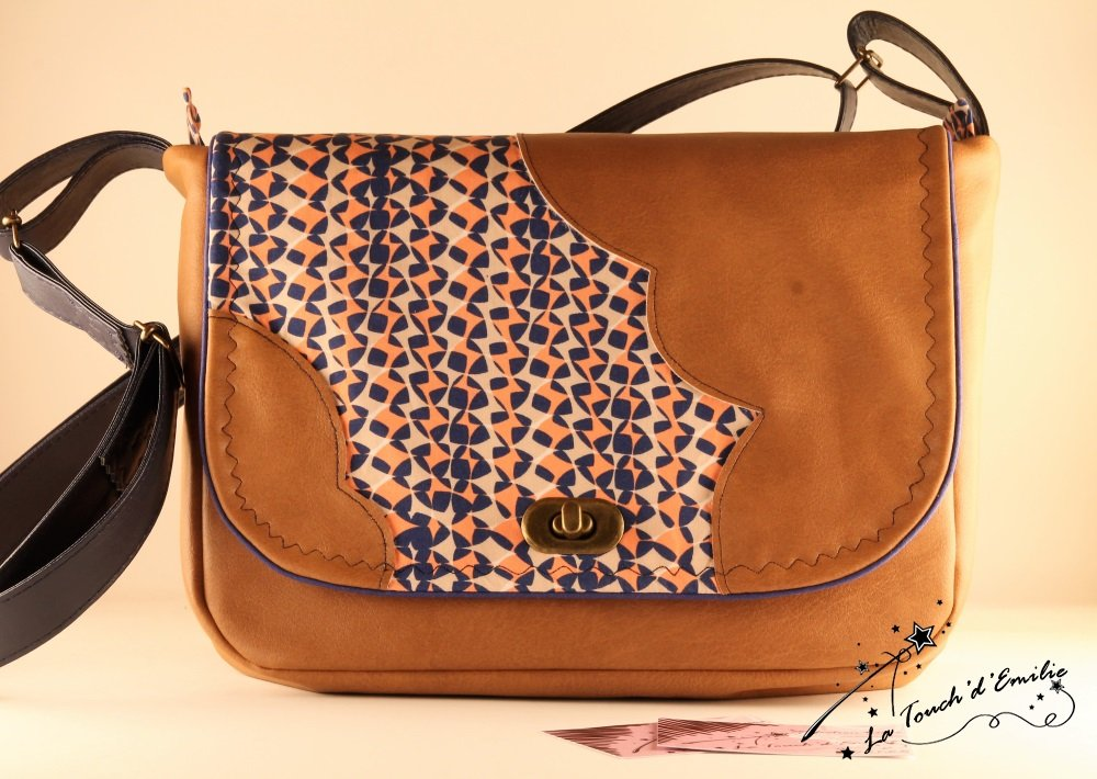 Sac Nuage l'orange bleue--9995184494169