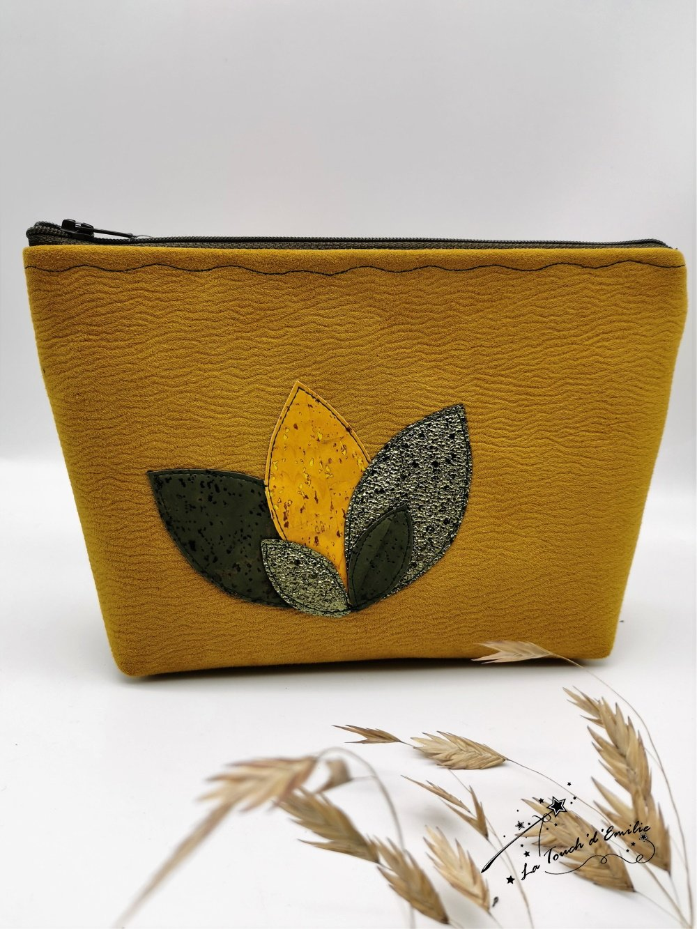 Trousse Maquillage Nymphéa Automne Moutarde--9996018062530