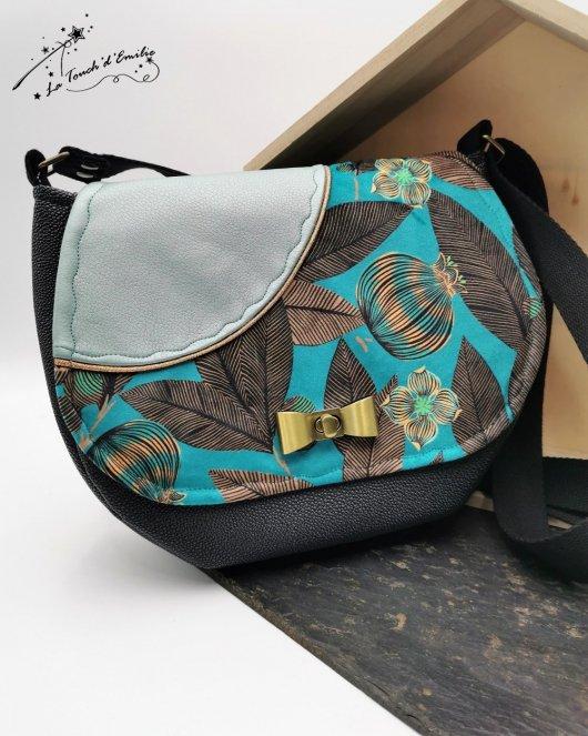Sac Papillon Grenade Turquoise étoilé
