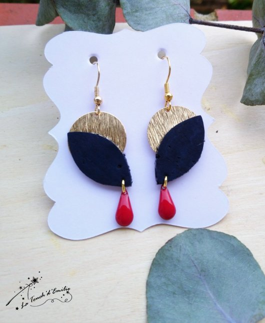 Boucles Aube Luxe Frenchy