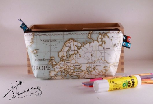 Maxi Trousse Mappe Monde
