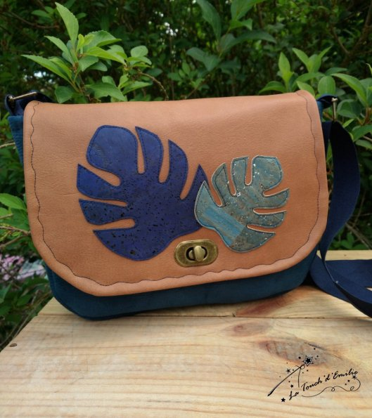 Sac Monstera Camel