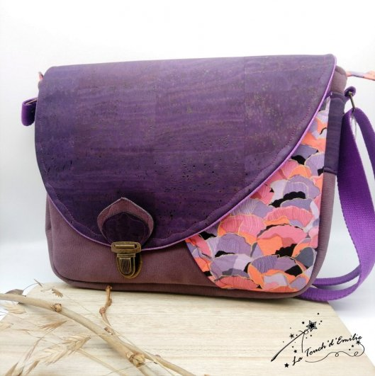 Sac Nouvelle Vague Liège Purple