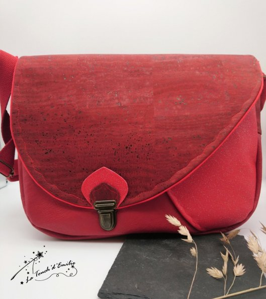 Sac Nouvelle Vague Rouge Intense